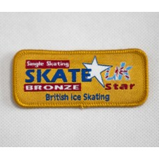 Skate Star Singles Badge Award - Bronze