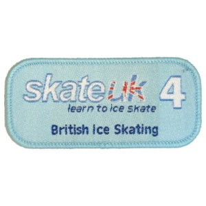 Skate UK Level 4 Badge