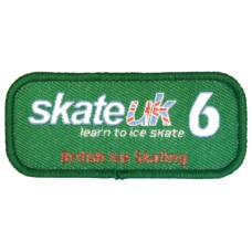 Skate UK Level 6 Badge