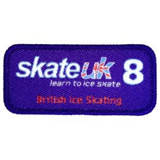 Skate UK Level 8 Badge