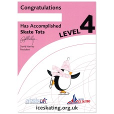 Skate Tots Certificate - Level 4