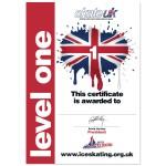 Skate UK Level 1 Certificate
