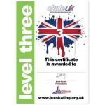 Skate UK Level 3 Certificate