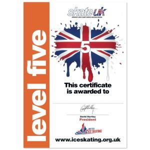 Skate UK Level 5 Certificate