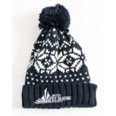 British Ice Skating Bobble Hat