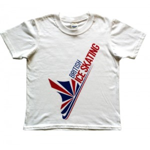 British Ice Skating Child T-Shirt - White