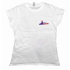 British Ice Skating Ladies T-Shirt - White