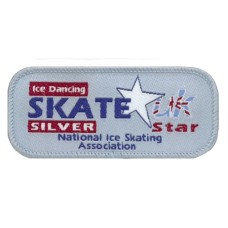 Skate Star Dance Badge Award - Silver