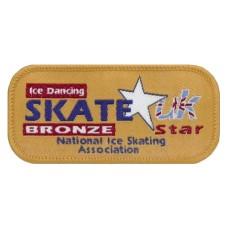 Skate Star Dance Badge Award - Bronze