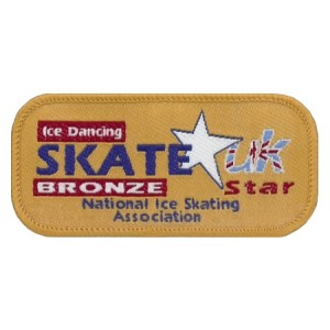 Skate Star Dance Badge Award - Bronze